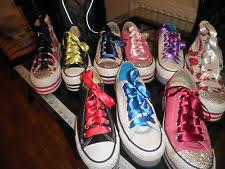 ribbon shoelaces satin ribbon shoelaces ebay