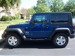 jeep wrangler blue deep water pearl blue 2009 jeep wrangler x s my first new u2026 flickr