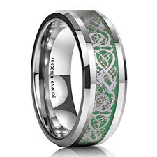 mens celtic wedding bands 8mm unisex or men s tungsten wedding band men s celtic wedding