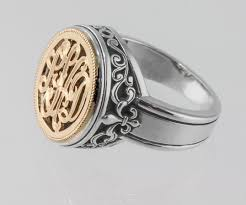 monogrammed ring monogrammed ring picture of symmetry jewelers designers new