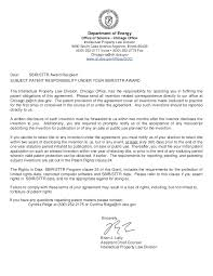 2013 11 00 patent responsibility letter for sbir sttr