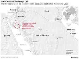 Uco Map Saudi Arabia Just Announced Plans To Build A Mega City That Will