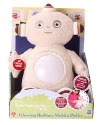 night garden glowing bedtime makka pakka 26cm soft toy
