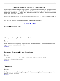 file grammar for writing grade 6 answer key pdf portable