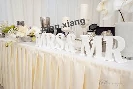 mr and mrs wedding signs aliexpress buy wedding sign mr mrs wooden letters table