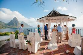 destination weddings st a destination wedding in st lucia with stunning views of the