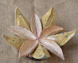 Ceramics Home Decoratives Ceramic Decorative Exotic Flower Ceramic Flower Sculpture