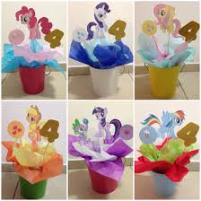 Centerpieces For Birthday by My Little Pony Centerpieces Great For Birthday Parties Diy
