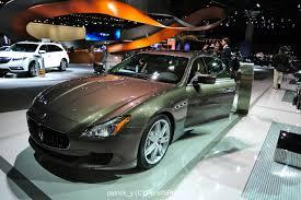 maserati brown automotive puristspro la auto show maserati