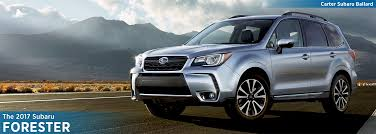 brown subaru forester new 2017 subaru forester model detail information seattle wa