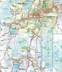 Massachusetts County Map Berkshire County Ma Laminated Wall Map Jimapco