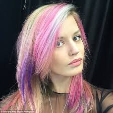 pinks current hairstyle 10 trend setting celebrity pink hair looks styleicons