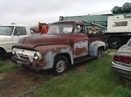 ford 1954 truck 1954 ford f 100 parts truck restoration project rat rod rust
