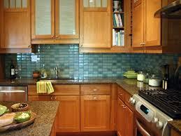 Green Brick Backsplash Tiles Transitional Green Glass Tile Kitchen Backsplash The Polkadot Chair Glass
