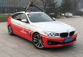 self driving car baidu u0027s self driving car takes on beijing traffic mit technology