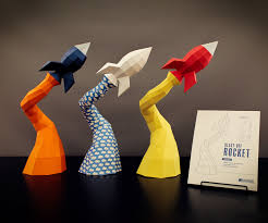 blast off rocket papercraft diy project 6 steps with pictures