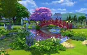 flower garden and coffee shop by snowhaze at mod the sims sims 4