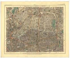 Stanford Maps London Edward Stanford 1890 Bro 10 U2013 L Brown Collection