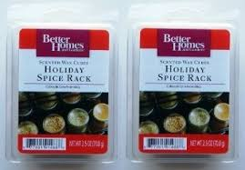 better homes and gardens ls amazon com 2 packages better homes and gardens holiday spice rack