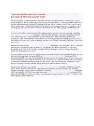 kannada gk exam quiz pdf pdf archive