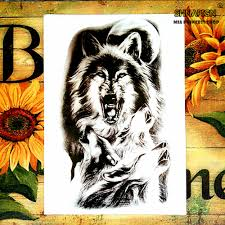 online get cheap wall tattoo decor wolf aliexpress com alibaba