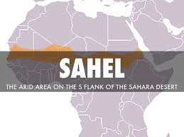 Sahel Desert Map Sub Saharan Africa Vocab By Jason Akara