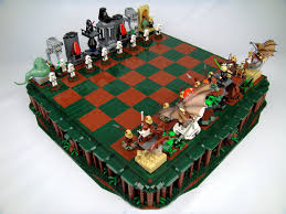 star wars return of the jedi lego chess flickr