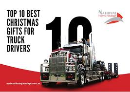 top 10 best gifts for truck drivers
