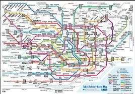 Tokyo Metro Map Cherry Blossoms U2013 Thompson Travels