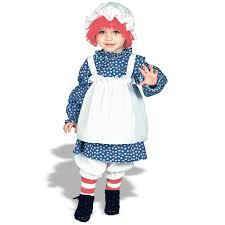 amazon com raggedy ann toddler 2 4 toddler 2 4 clothing