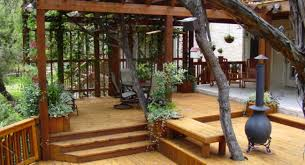 two tier deck designs home furniture design