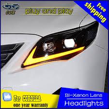2011 toyota corolla accessories car styling l for toyota corolla headlights 2011 2013