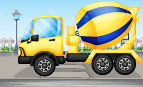 illustration of a cement truck royalty free cliparts vectors and
