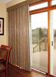Patio Door Window Panels Patio Window Treatments Best Sliding Door Window Treatments