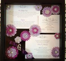 wedding wishes keepsake shadow box make a keepsake from your wedding invitation laakkonen