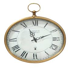 beautiful oval wall clock 29 oval wall clock amazon noran white