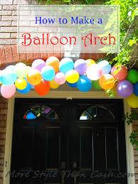 how to make a balloon arch make a balloon arch