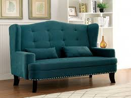 teal living room chair luxury furniture of america setubal wing
