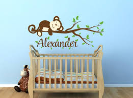 Jungle Wall Decal For Nursery Baby Room Jungle Wall Decals Gutesleben