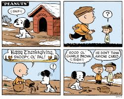 snoopy s thanksgiving