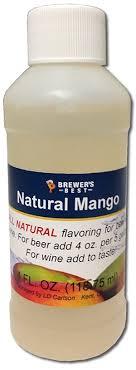 Tas Mango mango flavoring for and wine 4oz