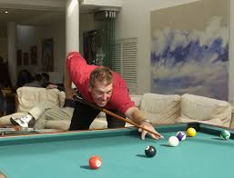 How Big Is A 3 Car Garage by Pool Table Space Cheating Smaller Sized Rooms