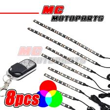 5050 led light strip multi color blinking 12v smd 5050 led light strip x8 w remote set