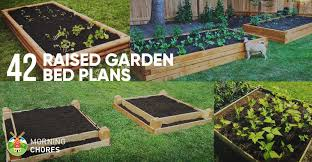 Garden Beds Design Ideas 42 Diy Raised Garden Bed Plans Ideas You Can Build In A Day