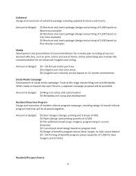 campaign proposal template sample marketing campaign template 8