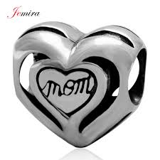 s day charms heart charms for s day 925 sterling silver diy