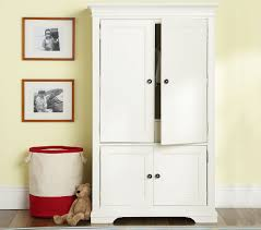 Mirror Armoire Wardrobe Furniture Sturdy Design Pottery Barn Armoire U2014 Threestems Com