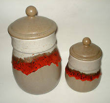 kitchen canisters canada collectible ceramic kitchen canisters ebay