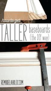standard baseboard height baseboard baseboards wood baseboard molding styles tall trim how