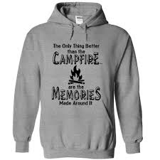 t shirt and hoodie campfire memories cool